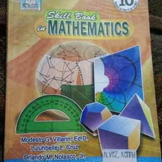 Skill Book in Mathematics