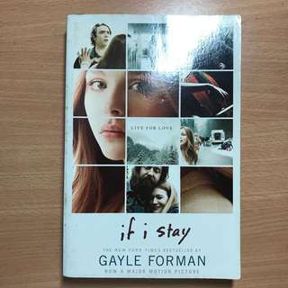 If I Stay- Gayle Forman