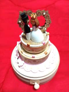 Wonderful life music box import untuk wedding gift