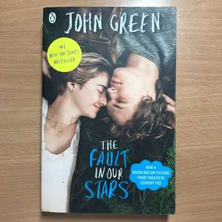 The Fault In Our Stars (Movie Edition)- John Green