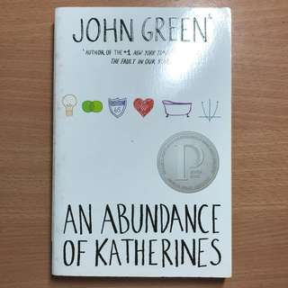 An Abundance of Katherines- John Green