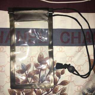 Black Mobile Phone Waterproof Case