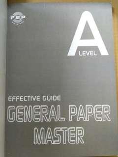 H1 GP General Paper Master