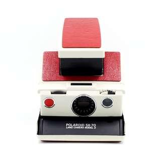 Polaroid SX-70 Wedding Red Camera