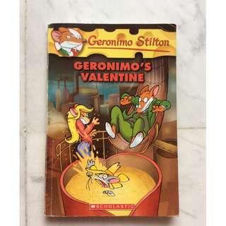Geronimo Stilton Geronimo's Valentine