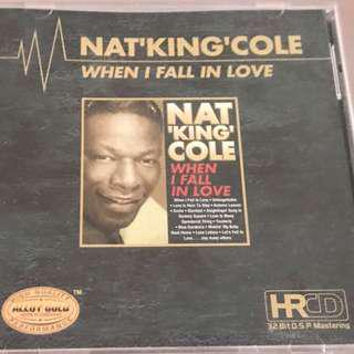 NAT KING COLE WHEN I FALL IN LOVE TMCD AUDIOPHILE GOLD HRCD 32bit