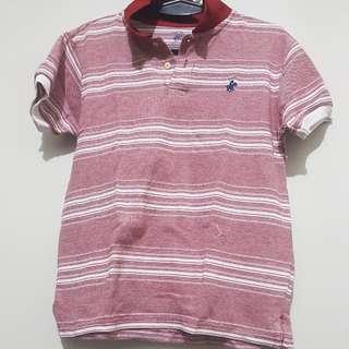 Beverly Hills Polo Club Stripes Polo Shirt
