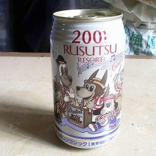 01年日本Sapporo Rusutsu Resort紀念罐一個
