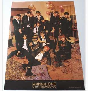 Wanna one night ver 海報