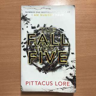 The Fall of Five- Pittacus Lore