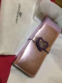 🚚 SWAROVSKI 施華洛世奇水晶飾品包 收納包 晚宴包 手拿包 化妝包化妝品耳環戒指項鍊手環手鍊手錶飾品收納長夾