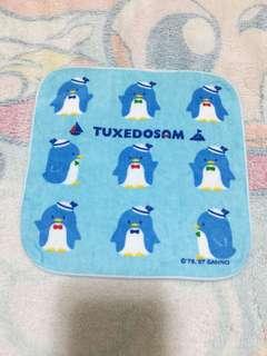 Sanrio TUXEDOSAM 細方巾(Brand new 全新)