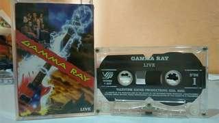 Kaset Gamma Ray - Live (1994)