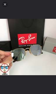 Rayban 太陽眼鏡 Ray Ban 太陽眼鏡 hexagonal rb3548 rayban brand new full packages original