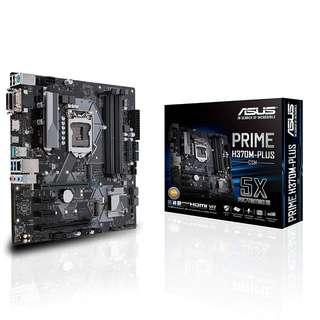 ASUS PRIME H370M-PLUS/CSM mATX Motherboard