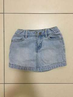 Cotton On Kids Jeans Skirts