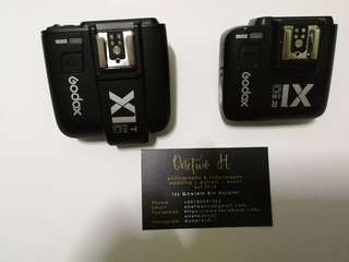 Godox X1C Canon Flash trigger and transmitter