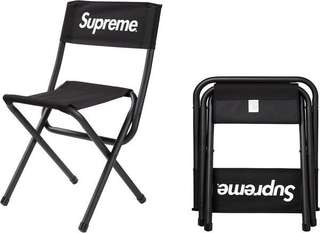 Supreme X Coleman Folding Chair⚫️