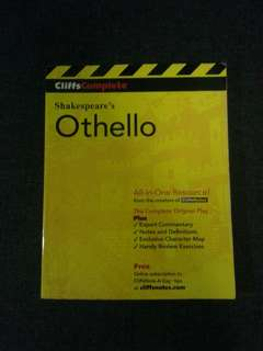 CliffsComplete - Othello by Shskespeare
