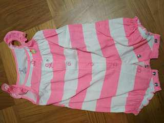 Carter's girl romper 12m