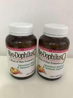 🚚 Brand new unopened Nature's Farm Wakunaga Kyo.Dophilus9 Probiotics health supplements 180 capsules
