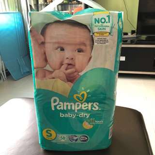 Pampers Size S