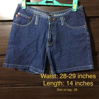 BNY Denim Shorts