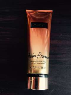 Victoria's Secret Lotion in Amber Romance