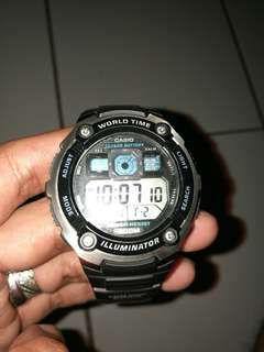 Casio world Time illuminator (AE-2000w)