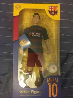 巴塞羅拿 官方生產 Messi 美斯 Action Figure (限量版)歡迎快trade