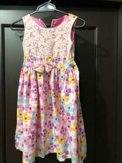 Floral Dress for 4-6 years old
