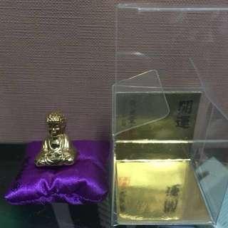 Brand New Mini gold plated 24k buddha