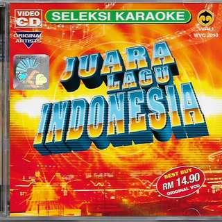 Juara Lagu Indonesia VCD Karaoke