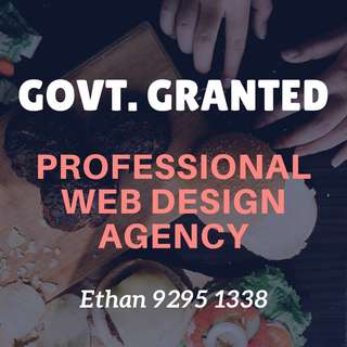 [SME GRANT] PROFESSIONAL WEBSITE DESIGN SERVICES