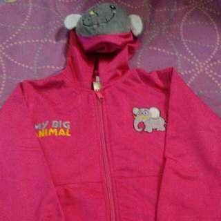 Jaket Pink Gajah