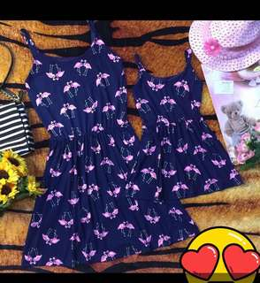 Mother and daughter terno dress
