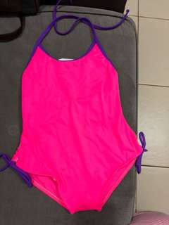 One piece swim suit for toddler