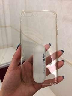 Transparant iphone 8 plus case