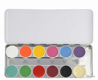 AUTH Kryolan Supracolor Theatrical Makeup Palette 1004