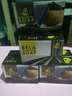 Charcoal and Bela Essential Soap