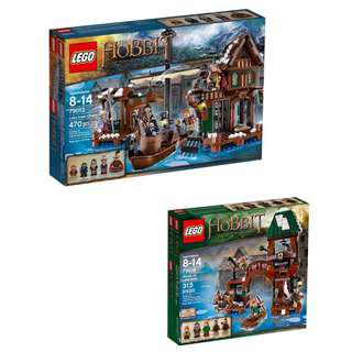 (‼️GSS SALES‼️) LEGO 79013 / 79016 The Hobbit - Lake-town Bundle
