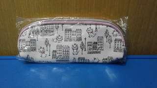 迪士尼 貴富貓筆袋
