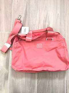 Brand new Agnes b nylon weekend bag
