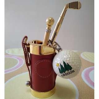 Golf Theme Display Set Decor Decorative
