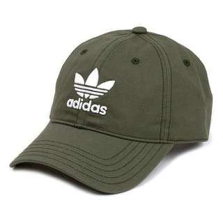 🚚 愛迪達adidas綠色老帽