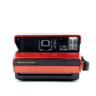 Polaroid Red Spectra System Camera