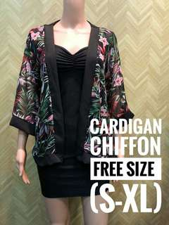 Cardigan Chiffon
