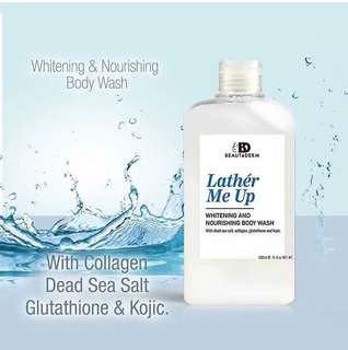 Lather Me Up: Whitening Body Wash