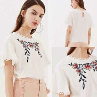 MADELINE Embroidered Top