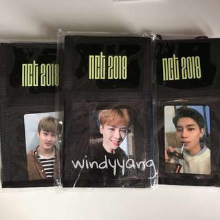 [Ready Stock] NCT2018 Fan Party Ticket Holder PC Set